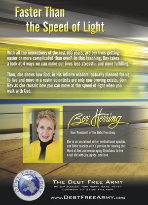 At the Speed of Light: Our Walk with God